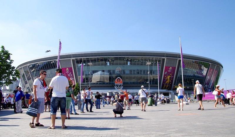 Фото Донецка: Донбасс Арена перед началом матча