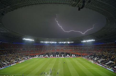 Евро-2012. Матч Украина-Франция.  А вот и начало...