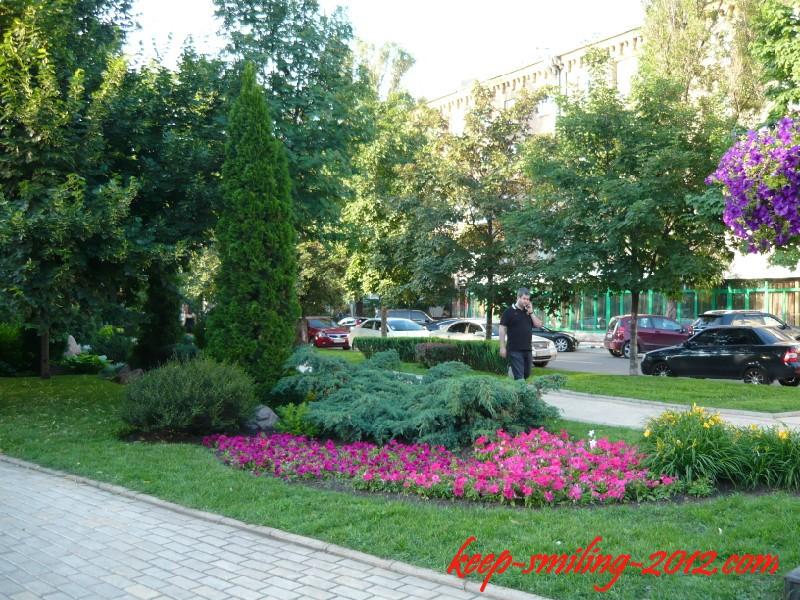 Фото Донецка. Бульвар Пушкина.