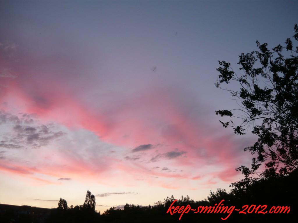 Фото Донецка: приятный вечер в облаках